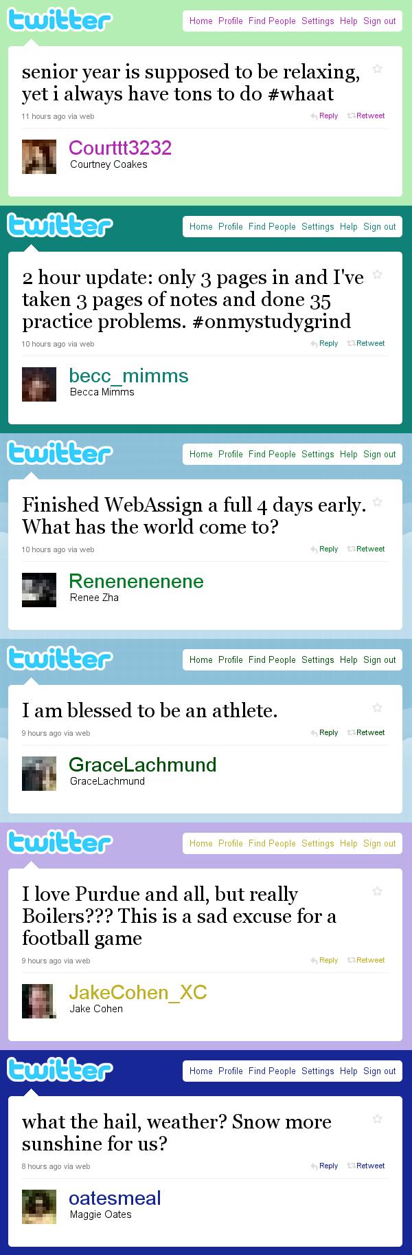 West side tweets