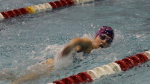 The Girls' Swimming team has enjoyed a very successful season.  After winning conference, they look to do well in sectionals, too.