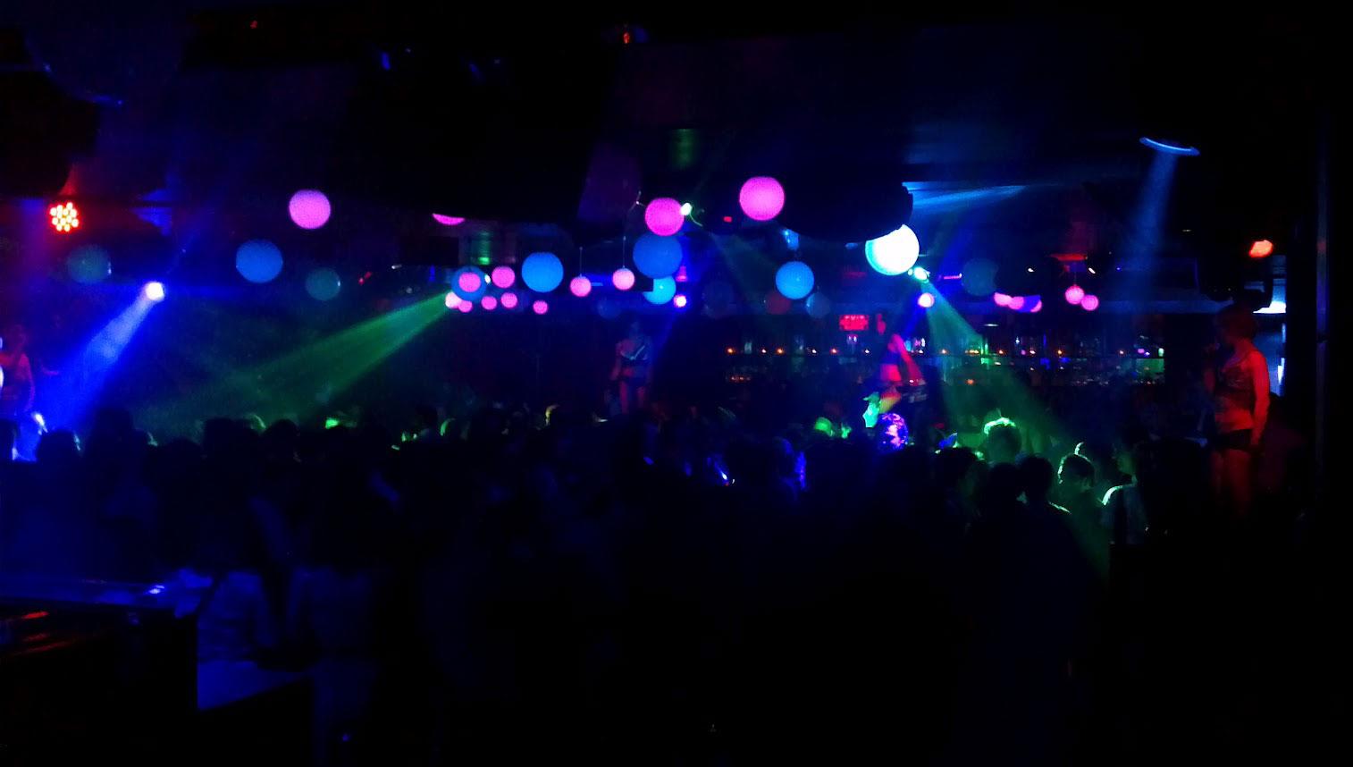 Night club disco lights the scarlette student newspaper for Disco night club