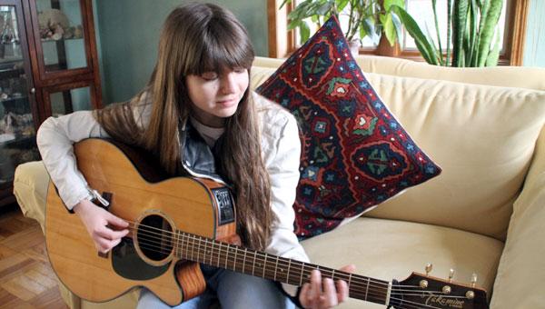 Natalia Ochoa Strums to Her Own Tune